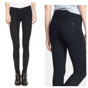 Rag & Bone women's black leggings jeans